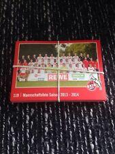50x Stk 1.FC Köln Rewe Sammel Sticker Aufkleber Album Hennes Saison 2016/2017