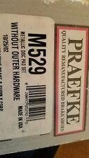 Praefke Front Brake Pads M529