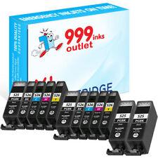 Los cartuchos de tinta de impresora compatible reemplazar Canon PGI-525 & CLI-526 - 12 Paquete