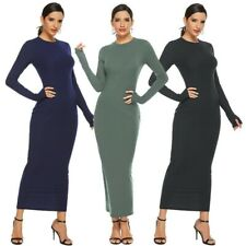 Women's Sexy Party Dress Long Sleeve Bodycon Sweater Dress Ball Gown Dresses