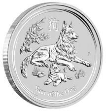 Australien - 1 Dollar 2018 - Jahr des Hundes - Lunar II. - 1 Oz Silber ST