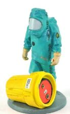 Firefighter Figurine Fireman Antichemical Belgium 2001 Metal Del Prado 1/32