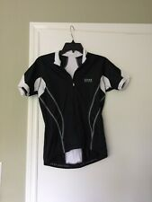 Gore Women's Bike Wear Windstopper Soft Shell Full Zip Jersey Black/White Size M