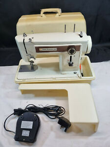 Electric Frister & Rossmann Cased Sewing Machine Mod 202 No 4996