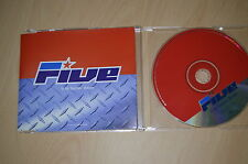 Five ‎– If Ya Gettin' Down. CD-Single promo (CP1710)
