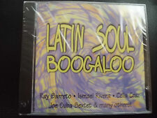 LATIN  SOUL  BOOGALOO ,   CD  2000 ,   LASERLIGHT , JOE CUBA, TITO PUENTE ,  NEU
