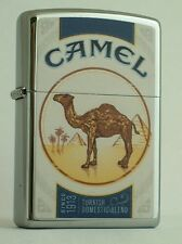 CAMEL ZIPPO  LIGHTER   CAMEL BLUE PACK DOUBLED SIDED - CHROME   CZ # 848
