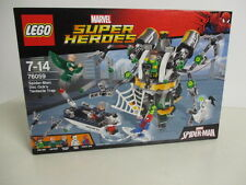 LEGO MARVEL SUPER HEROES 76059 SPIDE MAN DOC OCK'S TENTACLE TRAP new Nuevo NIB