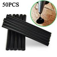 50X 220mm Black Glue Sticks Car Body Painltess Dent Repair For Hail Puller Tool