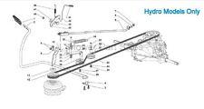 Hydro Trasmissione Cinghia di trasmissione MOUNTFIELD 1538h, sd98, STIGA & Lawnking ALPINA