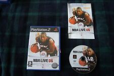 PS2 Game NBA live 06  3+