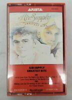 "Air Supply ""Greatest Hits"" Cassette Tape ARTISTA #AC8-8024 Circa 1983"