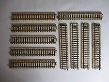 AF384o MARKLIN LOT RAIL LOT 10 RAILS DROIT HO
