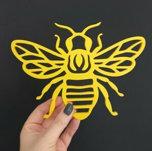 Bee Simple Patterned 3D Printed Wall Hanging Art Decoration Pick Your Colour