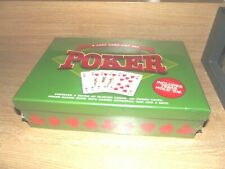 A Card Game Gift Set - Poker - Includes Texas Hold'em - New