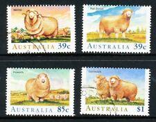 Australian 1989 Sheep, set of 4, used