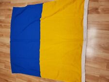 "Antique Vintage Nautical Maritime Flag Signal Code Star Brand Wool KILO ""K"""