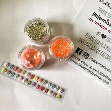 Coral Glitter Kit, Festival Glitter