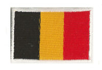 Petit écusson Belge Belgique badge patche thermocollant petit 45x30mm brodé