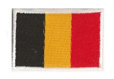 Ecusson brodé badge patche thermocollant Belge Belgique petit 45x30mm