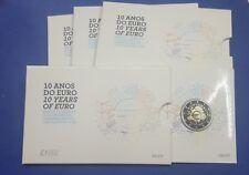 """PORTUGAL -  2 EUROS 2012 Gedenkmünzen   """" 10 Jahre Bargeld """"  PP / PROOF"""