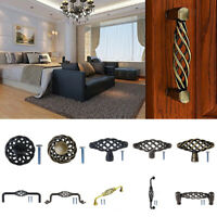 Bird Cage Spiral Handles Drawer Cabinet Door Pull Handle Knob Furniture Hardware