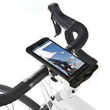 Black Bike Bicycle Mount Holder Waterproof Phone Pouch Case For iPhone XS X 8 7
