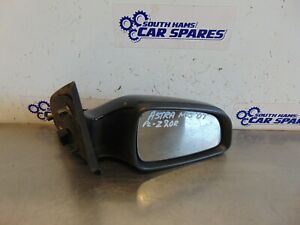 Vauxhall Astra Mk5 04-09 Drivers Right electric door wing mirror Black Z20R 5pin