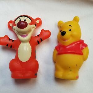 Mattel Fisher Price Little People Pooh Bear & Tigger Figures