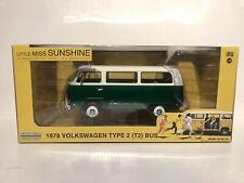 Greenlight 1/24 Little Miss Sunshine 1978 VW Type 2 (T2) Bus Chase/Green machine