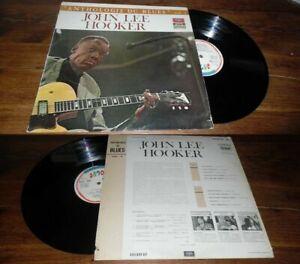 JOHN LEE HOOKER - Anthologie Du Blues LP French Press Vogue Blues Rock