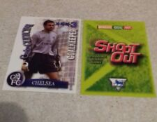 SHOOT OUT CARD 2003/04 (03/04) - Green Back - Chelsea - Carlo Cudicini