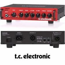 TC Electronic BQ500 Thrust 500W Bass Guitar Amplifier Head D Class Power