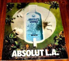 1990 ABSOLUT VODKA AD~L.A.~Los Angeles California