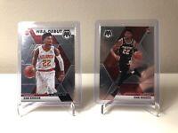 Cam Reddish Mosaic Rookie Card RC Lot 2 NBA Debut Peachtree Atlanta Hawks Rare