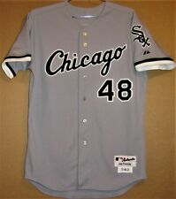 CHICAGO WHITE SOX JEFF MARQUEZ 2011 GRAY BUTTON-DOWN JERSEY 9fdd539e2