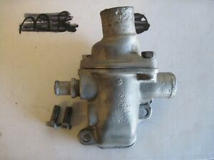 Chevy GMC 292 I-6 lower/upper thermostat housings 3861924 2 port