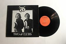 TWO OF CLUBS 76 LP Tri-Ad Recording Studios 904 US VG ++ SIGNED! 16A