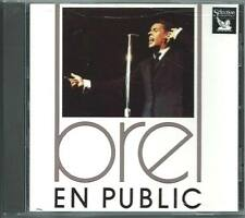 JACQUES BREL En Public CD ALF FRENCH READER'S DIGEST