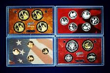 2009-s U.S. SILVER Proof Set.  U.S. Mint Made in Red Mint Box with COA