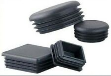 50 No, 100mm X 50mm ( 2.0 - 4.0 ) RECTANGULAR, HOLE BUNGS/PLASTIC INSERT, BLACK.