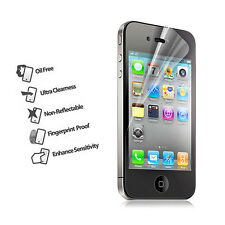 Front + Back Full Body Matte Anti Glare Screen Film Protector For iPhone 4 4G 4S