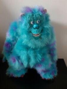 "Disney Talking Sully Monsters Inc Plush Stuffed Animal Press Hand Battery 15"""