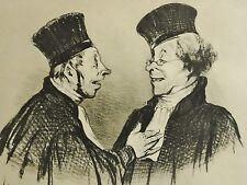 Honoré DAUMIER (1808-1879) Litho nummeriert + Monogramm: CROQUIS D' EXPRESSIONS