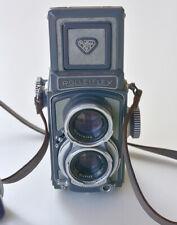 Rolleiflex 4x4 Xenar 60 f:3.5 con custodia e paraluce
