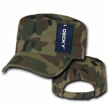 NEW DECKY CAMO CADET MILITARY STYLE HAT