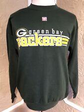 NWOT Vtg 1980's Logo 7 Green Bay Packers Sweatshirt Size Large L Shirt Deadstock