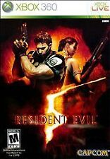 Resident Evil 5 - Xbox 360 Game V No Booklet Low Prices!