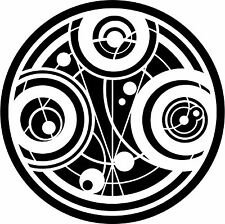 Decal Vinyl Truck Car Sticker - Doctor Who Gallifrey Time Lord Seal Of Prydonian