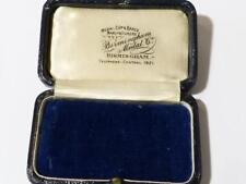 Antique EMPTY Jewellery Display Box Medal, Masonic Jewel Pendant Brooch etc #EB9